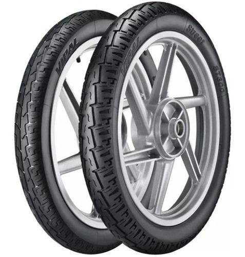 par pneus pop bis 275-17 + 60/100-17 st300 vipal