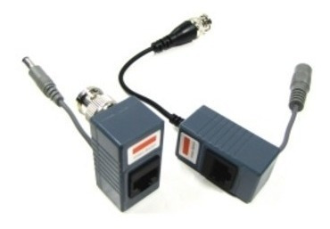 par power balun envia poder y video por cable utp camaras