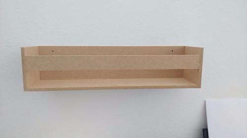 par prateleira estante decorativa para livros infantil 50cm