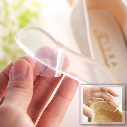 par protector de talón adhesivo en gel zapatos antiampollas