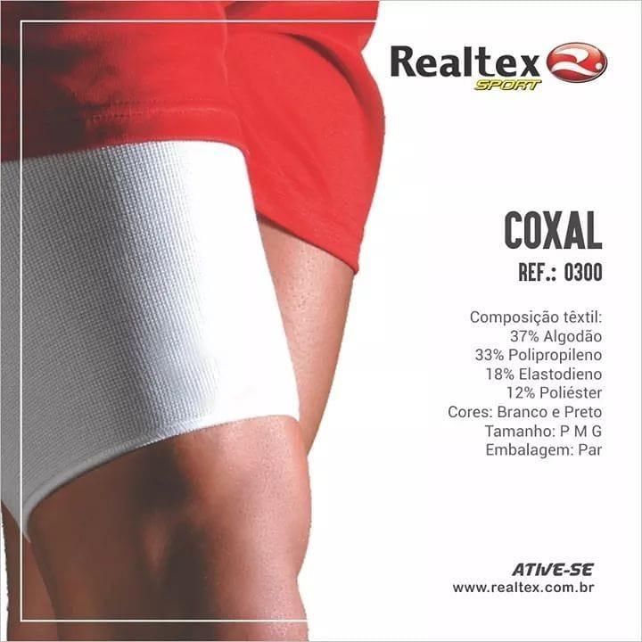 Par Protetor Coxal De Compressão Elástico Realtex P - M - G - R  38 ... af5b9c8f12724