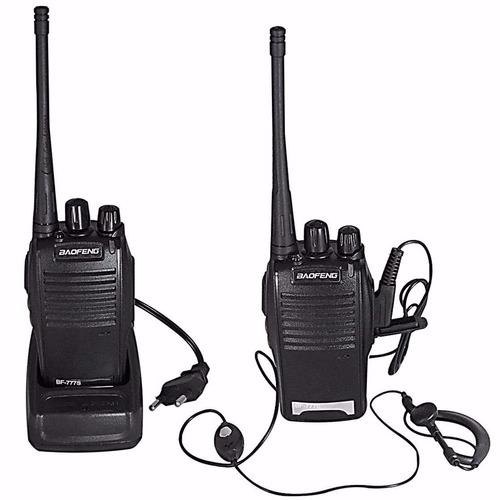 par radio comunicador walk talk talkabout profissional 777s