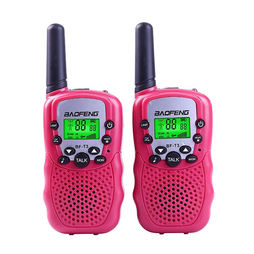 par radio comunicador walkie talkies talkabout baofeng t3