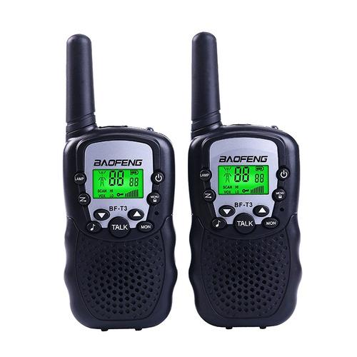 par radio comunicador walkie talkies talkabout baofeng t3