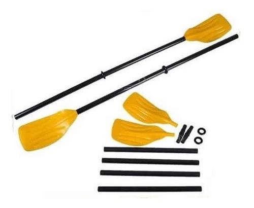 par remos plasticos bestway - ideal botes lagos piletas