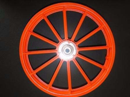 a1daf4fcf Par Roda Bicicleta Infantil Aro 16 Laranja 8708001 - R  120
