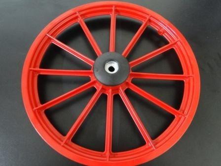 fcd851031 Par Roda Bicicleta Infantil Aro 16 Vermelho 870804 - R  120