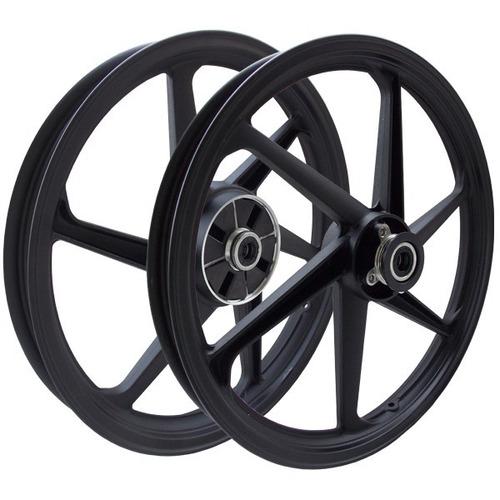 par roda liga leve yamaha ybr factor 125 freio disco scud