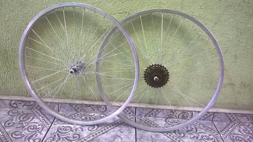 par roda simples c/ catraca 6v 26