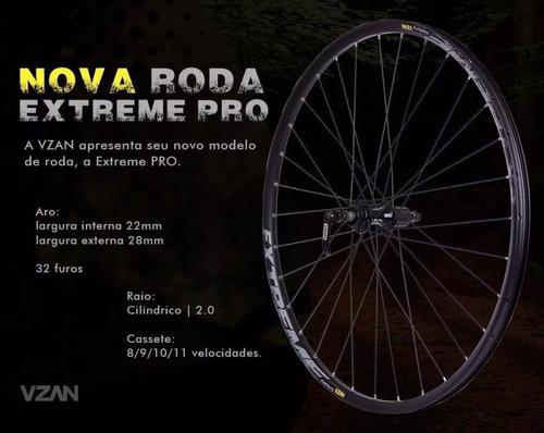 par rodas vzan extreme pro disc center lock 8 9 10 11v 29er