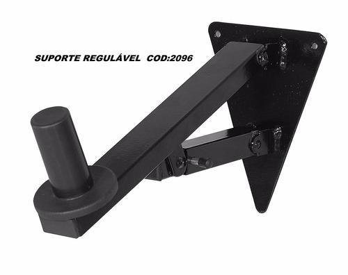 par suporte para caixa de som acustica de parede regulagem