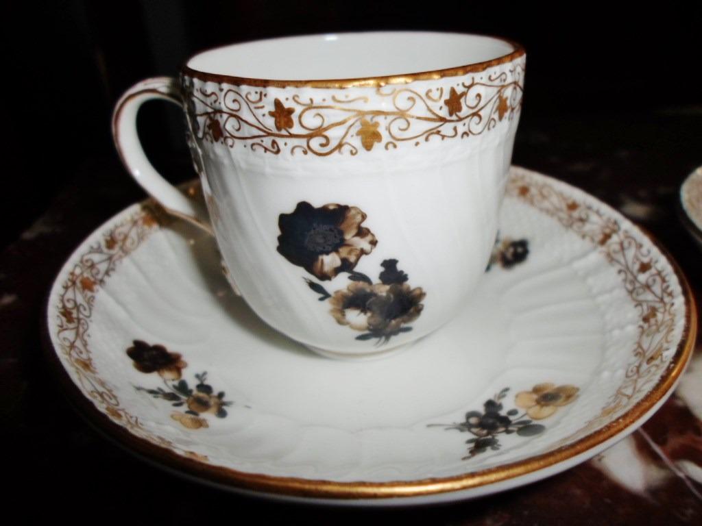 Par tazas coleccion porcelana kpm en mercado libre for Tazas porcelana
