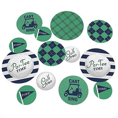 par-tee time - golf - fiesta de cumpleaños o jubilación