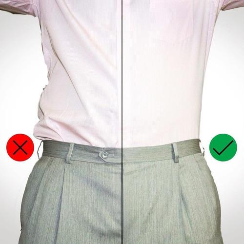 par tirantes camisa y calcetin en su lugar stays shirt
