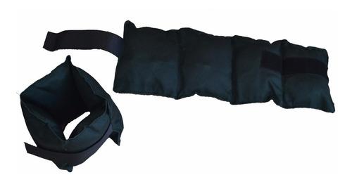 par tobilleras con peso 4 kgs c/u reforzadas muñequera carga