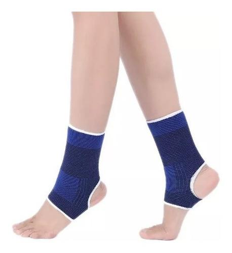 par tornozeleira tensor suporte elástico tornozelo esportivo