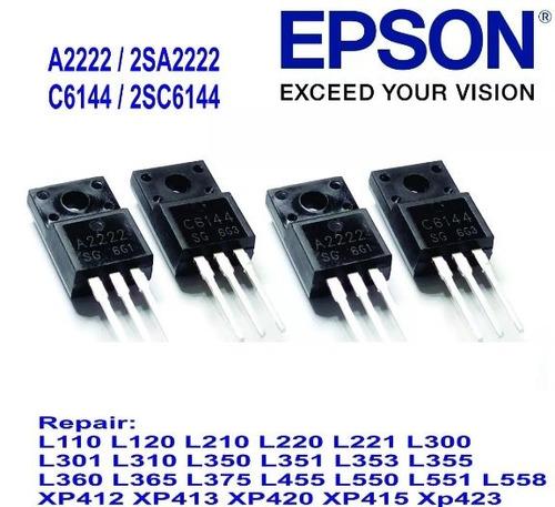 par transistor c6144 a2222 epson l355 l210 l365 original