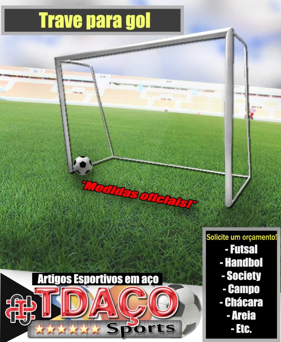3850fcb646 par trave de gol medidas oficiais tdaco sports. Carregando zoom.