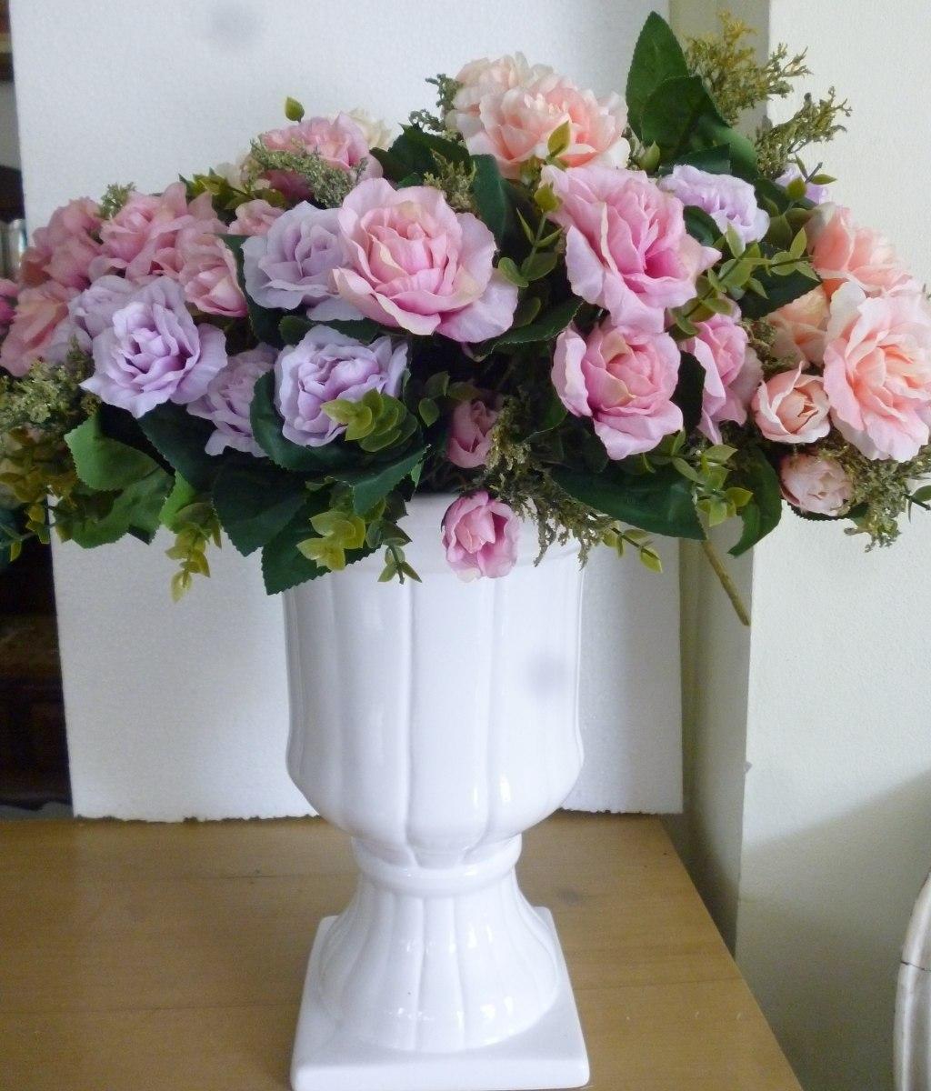 Enfeite De Vaso ~ Par Vaso Romano Branco Para Enfeitar De Casa E Eventos R