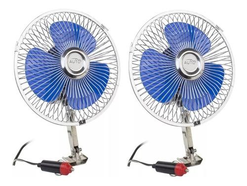 par ventilador automotivo 12v  8 pol carro caminhão