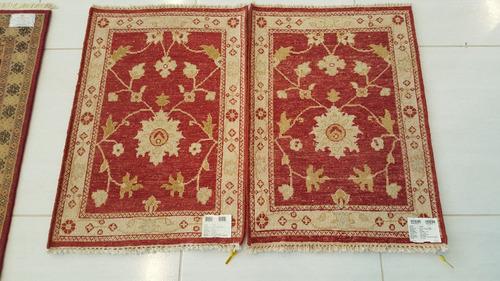 par ziegler 90x60cm artesanal legitimo tapete persa zigler
