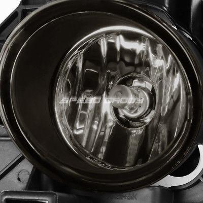 For Altima 07-09 Plastic Passenger Side Fog Light Cover Black