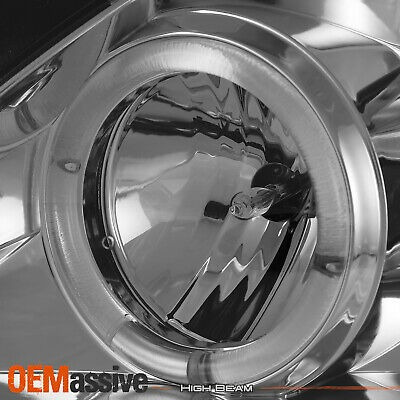 Fits 09-10 Corolla JDM Black Halo Projector R8 Style Daylight DRL LED Headlights