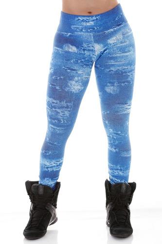 para academia calça legging estampada fitness - * promoção *