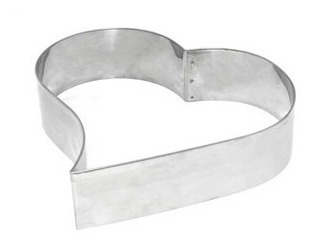 para aço cortador coração