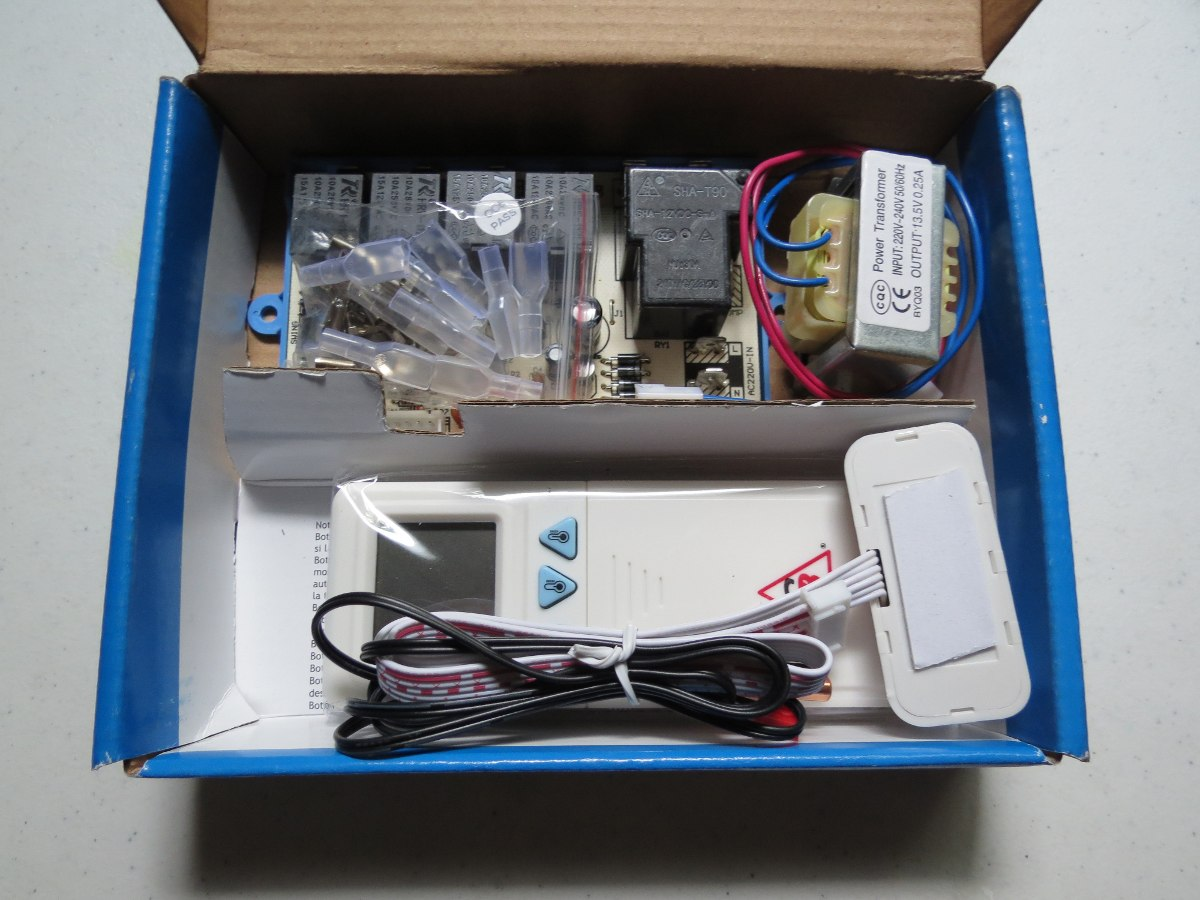Tarjeta universal para aire acondicionado incluye control for Repuestos de aire acondicionado