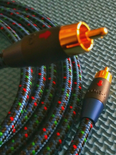 para audio cable coaxial