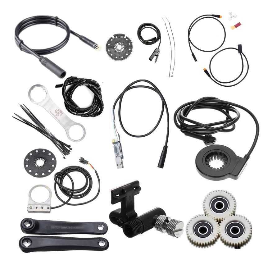 Para Bafang Bbs/bbs01/02/bbshd Programming Cable/velocímetro