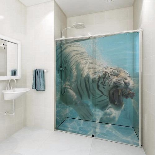 para banheiro, adesivo