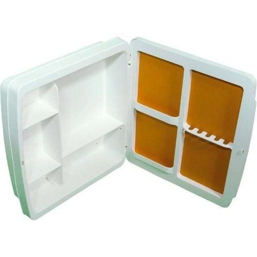 Adesivo Para Salao De Jogos ~ Armário Para Banheiro C Espelho Herc 34x37x10 2650 Branco