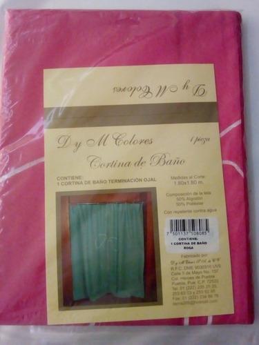 para baño cortina
