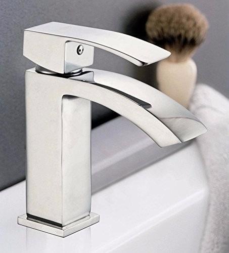 Llave moderna 1 manija grifo para ba o cocina estilo for Llaves de agua para bano