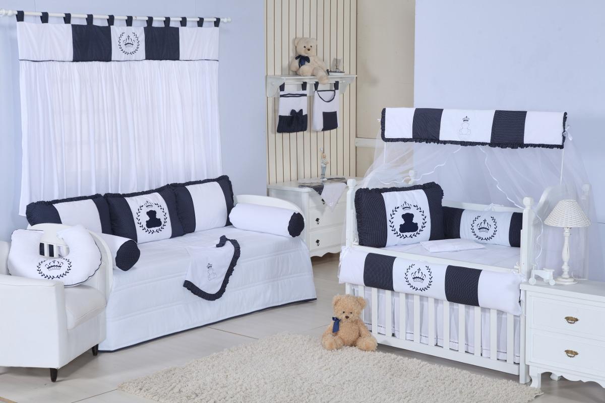 Para Amamentação Quarto De Bebê Ursos Azul Marinho R$ 59 99 em  #4F5A7C 1200 800