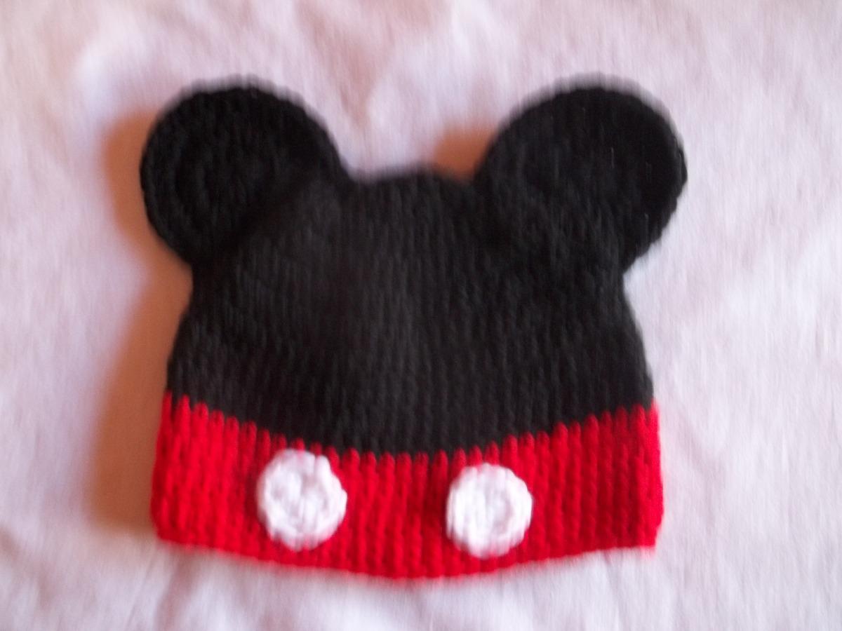 d0270eee4 Cargando zoom... gorros de minnie mickey para bebe chicos tejido crochet