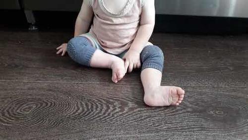 para bebe par rodilleras