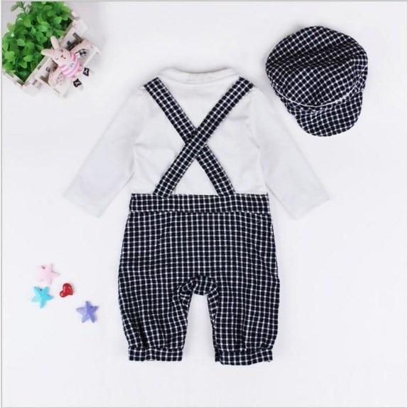 mameluco ropa traje para bebe cuadros boina · ropa para bebe · para bebe  ropa 4221c97abab