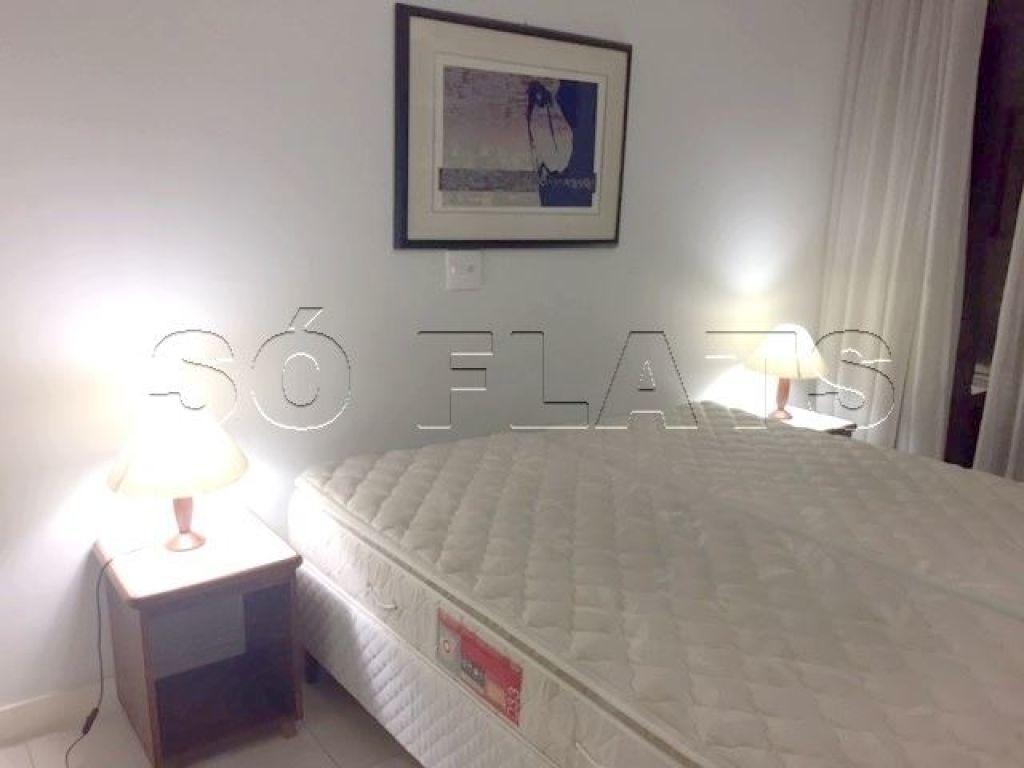 para bem morar ou investir: flats em moema muito bem localizado - sf25202