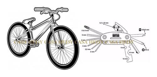 para bicicleta herramientas