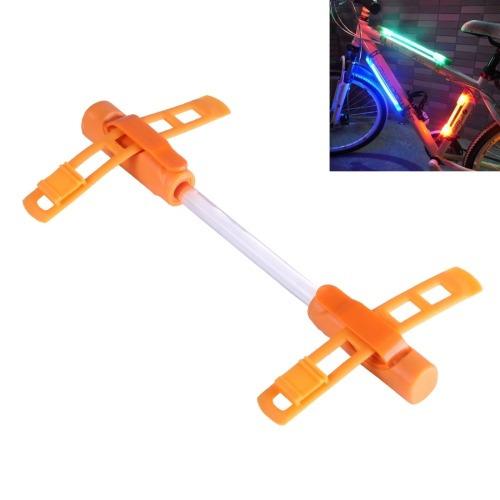 para bicicleta luz decorativa glo-palo tira naranja