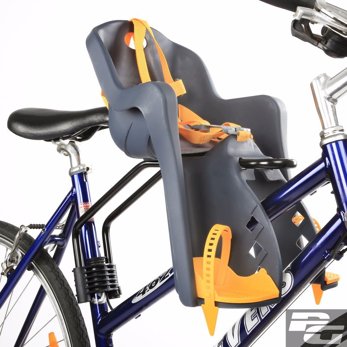Silla asiento bebe posterior para bicicleta 72825 for Silla nino bicicleta