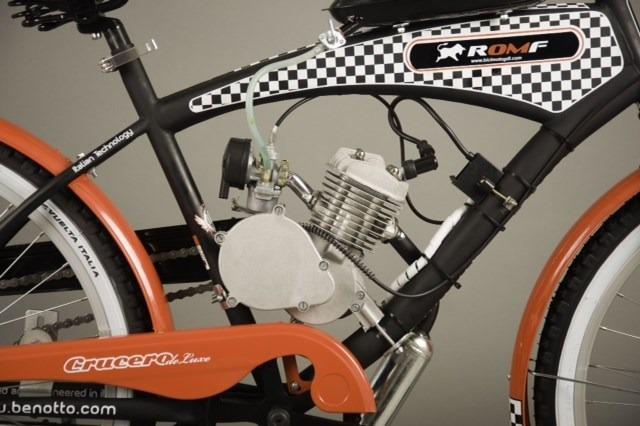 Romf kit motor 80cc de gasolina para bicicletas y for Motores y vehiculos nj