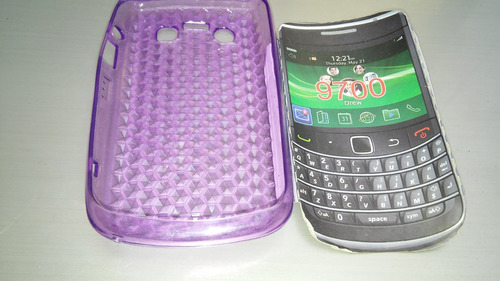 para blackberry funda silicon