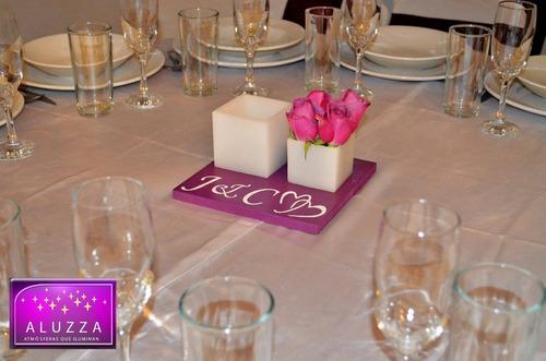 para boda centro mesa