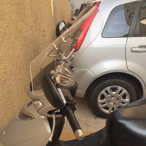 para-brisa bolha universal acrílico scooter biz lead pcx neo