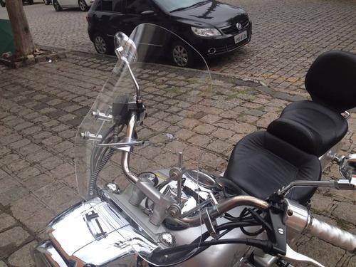 para-brisa bolha universal para motos acrílico policarbonato