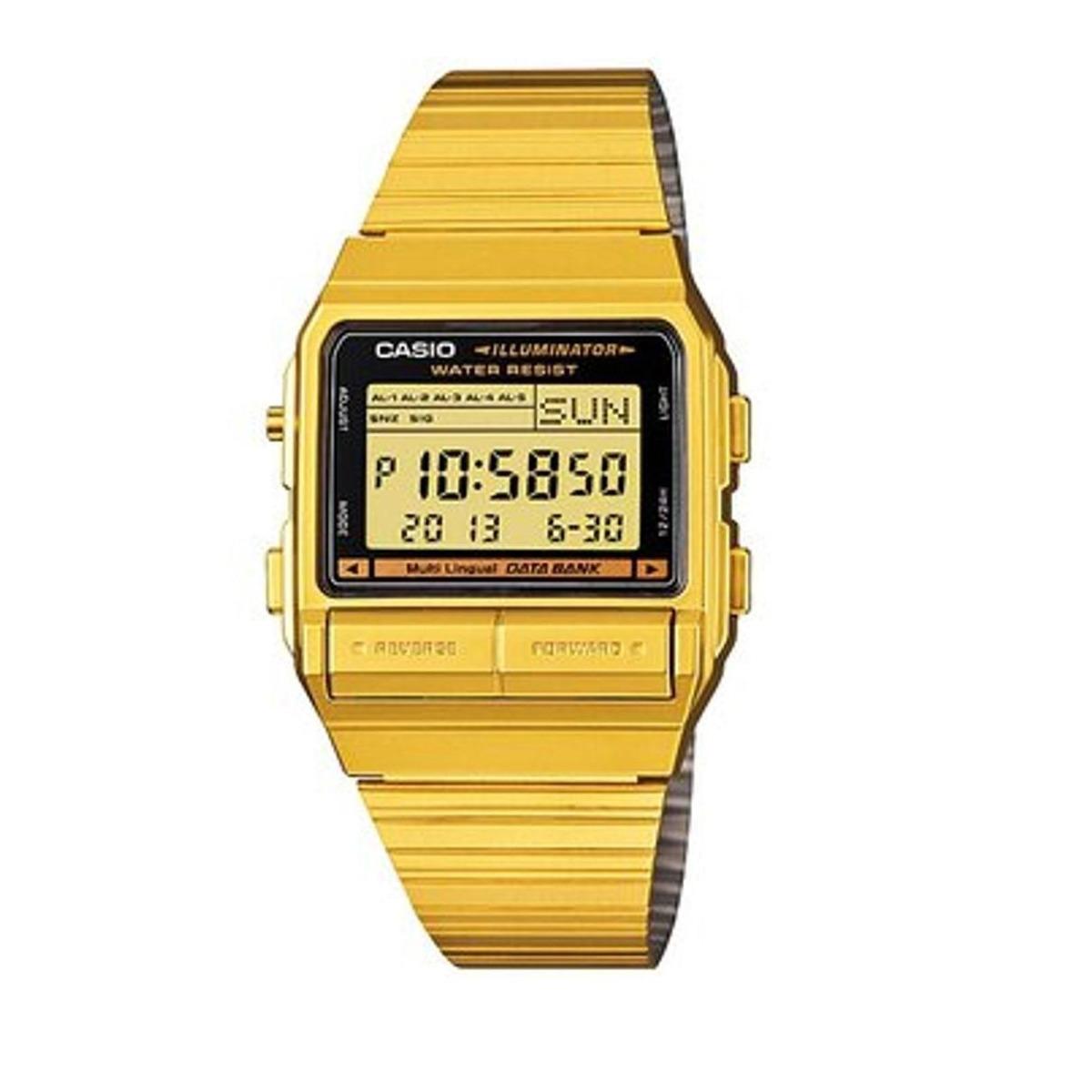 c1905159815f para caballero reloj casio vintage db380 dorado. Cargando zoom.